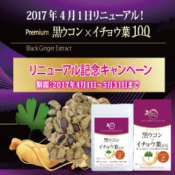 イチョウ葉×黒ウコン100